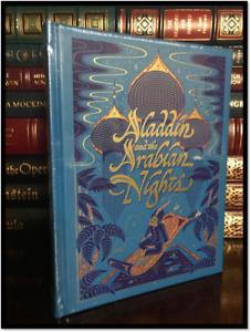 Aladdin & the Arabian Nights New Sealed Leather Bound Illustrated Gift Hardback