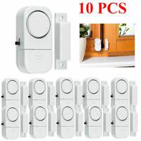 10PCS Wireless Home Window Door Burglar Security Alarm System Magnetic Sensor