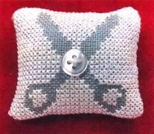 EJVDesign CLARE'S SCISSORS Cross Stitch Cart Only ~ scissor fob
