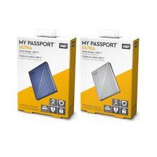 Western Digital My Passport Ultra 1TB 2TB 4TB 5TB External Portable Hard Disk WD