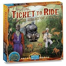 Ticket to Ride Map Collection Board Game: The Heart of Africa, V3 Free US Ship