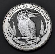 2012 AUSTRALIA KOOKABURRA Bird $1 SILVER 1 Oz .999 SILVER
