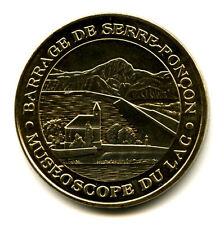 05 ROUSSET Barrage de Serre-Ponçon, 2012, Monnaie de Paris