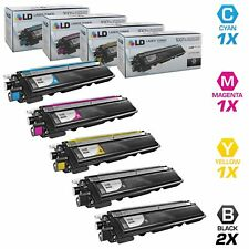 LD © For Brother TN-210 5pk HY Color Toner TN210BK TN210C TN210M TN210Y