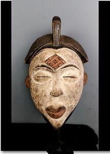 Old Tribal Punu Okuyi   Mask    --- Gabon
