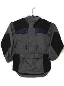 Vintage Columbia 90's Men's Ski Snowboard Winter Shell Hooded Jacket XS Grey