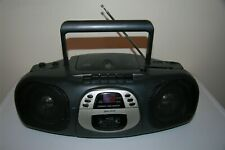 Lennox Sound Stereo Cd Am/Fm Cd-101 Boom Box Boombox Tested + Ac Cable