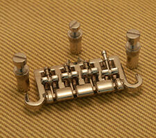 BB-0333-001 Heavy Nickel Bridge For Gibson Epiphone Bass Stud Spacing