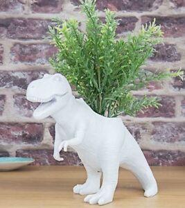 DINOSAUR T-Rex PLANTER Desktop PLANT POT Herb Garden Gift Republic