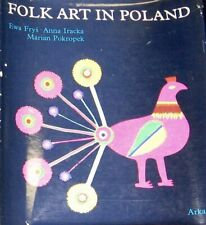 Polish Folk Art Frys-Pietraszkowa Book Poland Traditional Ethnic Culture Crafts