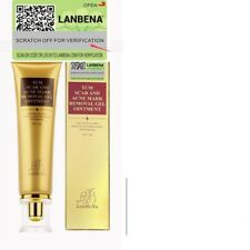 Lanbena TCM Scar and Acne Mark Removal Ointment Gel - for Wounds, Cuts and burn