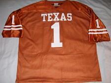 UT Texas Longhorns NCAA 1 Orange Jersey In-Zone IZAW Adult XX-Large 2XL used