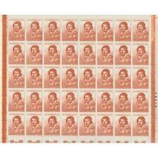 1960 ITALIA REPUBBLICA CARAVAGGIO LIRE 25 FOGLIO MF74280