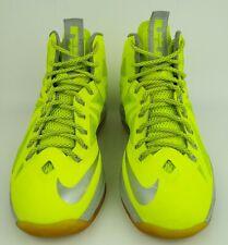 Nike Lebron X Volt Dunkman Fly Wire Basketball Shoe Sneaker Size 9 #541100-700