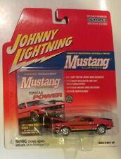 Johnny Lightning 71 Ford Mustang Mach 1 Red Cragar Mustang Illustrated Pony Car