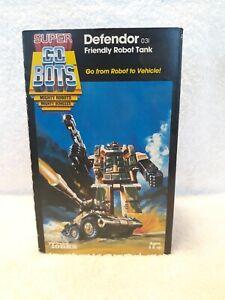 Super GoBots - Defendor 031 - In Box - 1984