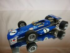 SMTS KIT (built) MARCH 701 TYRRELL No 1 - STEWART F1 BLUE 1:43 RARE - NICE COND