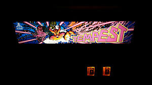 TEMPEST (cabaret) by ATARI - arcade video game - COMPLETELY RESTORED