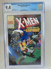 UNCANNY X-MEN ANNUAL #17 MARVEL CGC 9.4 GRADED 1993 1ST APPEARANCE X-CUTIONER