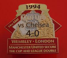 Danbury Man Utd Pin Badge Manchester United Football Club FC FA Cup Winners 1994