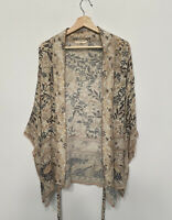 Spell Designs Oasis Short Kimono Oracle With Gold Lurex-Size O/S          SAMPLE
