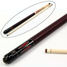 McDermott RUBY DIAMOND Hand Crafted G-Series American Pool Cue 13mm tip – G325