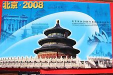 2001 china- hong kong-macau Joint issue[Apply for the 2008 Beijing Olympic Game]