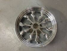 Custom 17 x 3.5 Aftermarket Front Sportbike Wheel, Chrome Display Wheel