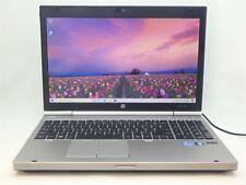 "15.6"" Hp EliteBook 8560p 128Gb Ssd 4Gb Intel i5 2nd 2.3Ghz No Power Cord/Battery"