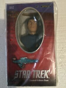 SPOCK STAR TREK LIMITED EDITION BUST hand cast + hand numbered Collectible