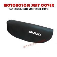 Motorrad Sitzbezug Suzuki DR650 R DR650R 1992-1995 Schwarz