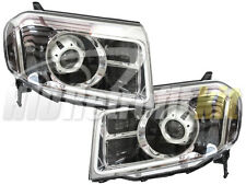 Custom Retrofit HID Bixenon LED Switchback Headlights For 2009 up Honda Pilot