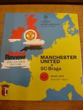 23/10/2012 Manchester United v Braga [Champions League] . Thanks for viewing our