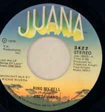 """Anita Ward(7"""" Vinyl)Ring My Bell-VG/VG"""
