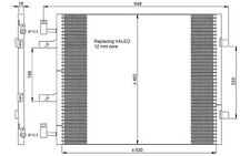 NRF Condensador, aire acondicionado OPEL RENAULT TRAFIC NISSAN VAUXHALL 35845