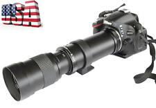420-800mm F/8.3-16 Telephoto Zoom Lens T For  Canon EOS 100D 1300D 750D 60D 70D