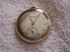 Antique Buren Pocket Watch 7 Jewels