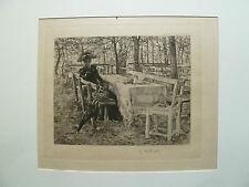 Adolf Hölzel Secession, Adolf Hölzel Dachau, Photogravur Secession, Photogravur