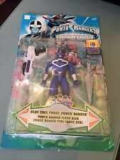Power Rangers blue time force power new in blister pack-very rare