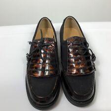 STUART WEITZMAN Womens Golf Shoes Brown Tortoise Twill Size 9 B G16