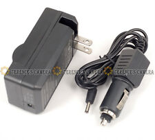 BATTERY CAR CHARGER For CANON BP511 BP-511A 30D 40D 50D
