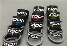 "TOSEEK Carbon Bike Headset Spacer 1-1/8"" 5/10/15/20/25mm Bicycle Part Ultralight"