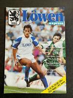 II. BL 91/92 TSV 1860 München - FC Carl Zeiss Jena, 02.11.1991