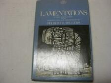 Lamentations. by Delbert R Hillers; Anchor Bible New translation & commentary