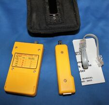 RightTech Tone Generator & Cable Probe Tracer Network Tester Kit 9803A