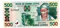 Sierra Leone … P-23 … 500 Leones … 1995 … *UNC*