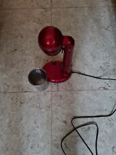 Milchshaker: Elektrischer Drink-Mixer mit Edelstahl-Becher Eiweiß Shaker