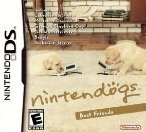 Nintendogs: Best Friends Version - Nintendo DS Game Cartridge
