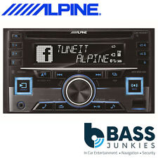 Alpine CDE-W296BT 50W x 4 Bluetooth CD MP3 USB AUX iPhone Double Din Car Stereo
