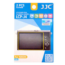2x Film LCD Screen Display H3 Hard Protection for Nikon 1 J4